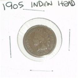 1905 INDIAN HEAD PENNY *NICE COIN - PLEASE LOOK AT PICTURE TO DETERMINE GRADE*!!