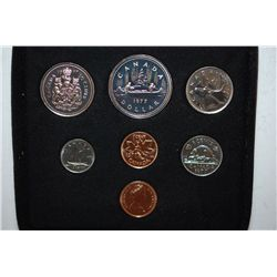1977 Canada Mint Foreign Set; Royal Canadian Mint; EST. $10-15