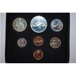 1979 Canada Mint Foreign Coin Set; UNC; Royal Canadian Mint; EST. $10-15