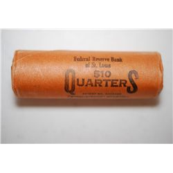 Washington Silver Quarter; Shot Gun Roll; EST. $250-270