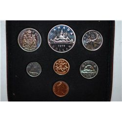 1975 Canada Mint Foreign Coin Set; UNC; Royal Canadian Mint; EST. $5-10