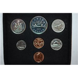 1977 Canada Mint Foreign Set; UNC; Royal Canadian Mint; EST. $5-10