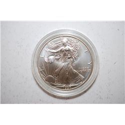 1997 American Eagle Silver $1 In Velvet Display Box; EST. $55-70