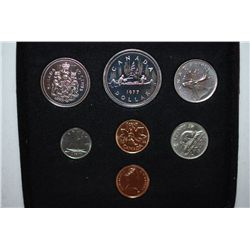 1977 Canada Mint Foreign Coin Set; Royal Canadian Mint; EST. $5-10