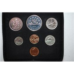 1977 Canada Mint Foreign Coin Set; UNC; Royal Canadian Mint; EST. $5-10