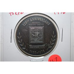 1976 U.S.P.S. 120th Anniversary Registered Mail Token; EST. $3-5