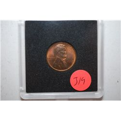 1909 Lincoln Penny in case; EST. $2-5