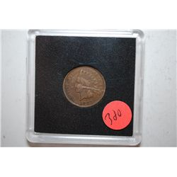 1907 Indian Head Penny in case; EST. $2-5