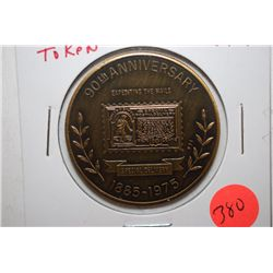 1976 U.S.P.S. 90th Anniversary Of Special Delivery Token; EST. $3-5
