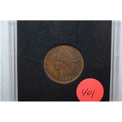 1907 Indian Head One Cent; EST. $2-5