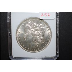 1884-O US Silver Morgan $1; MCPCG Graded MS62; EST. $45-60