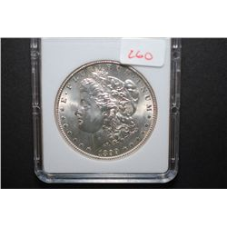 1899-O US Silver Morgan $1; MCPCG Graded MS61; EST. $45-60
