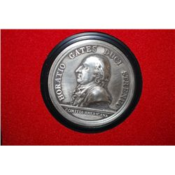 "US Mint Department Of The Treasury ""America's First Medals; General Horatio Gates; EST. $3-5"
