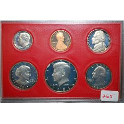 1981-S US Mint Coin Set; EST. $5-10