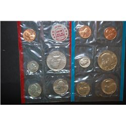1972 US Mint Coin Set; P&D Mints; UNC; EST. $5-10