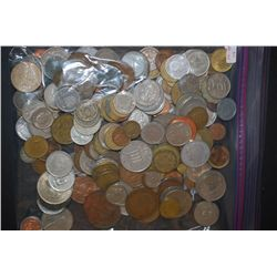 World Coins & Tokens; Various Dates, Conditions & Denominations; Lot of 200; EST. $20-40