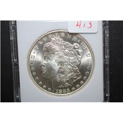 1883-CC US Silver Morgan $1; MCPCG Graded MS63; EST. $205-230