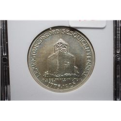 1925 US Lexington-Concord Commemorative Half Dollar; MCPCG Graded AU58; EST. $100-120
