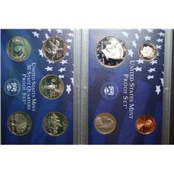 1999-S US Mint Proof Set & US Mint State Quarter Proof Set With COA Included; EST. $10-15