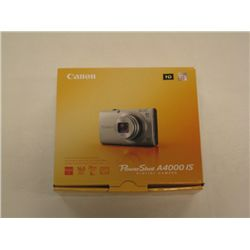 Canon Power Shot A4000 IS Digital Camera - Black