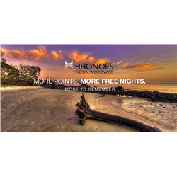 50,000 Hilton HHonors Points