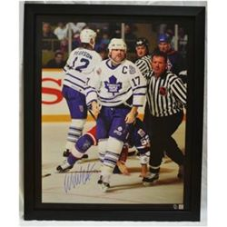 """Classic Fight"" Toronto Maple Leafs, Wendel Clark Autographed Giclee"