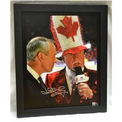 "Don Cherry Autographed ""Made in Canada"" Limited Edition Giclee Canvas"