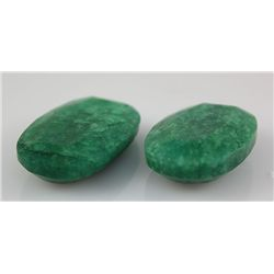 Emerald 169.33 ctw Loose Gemstone Mix Sizes Oval Cut