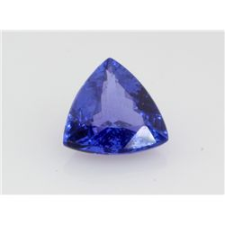 9.44 ctTanzanite African Stone Trillion approx. 14x14mm