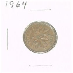 1964 CANADIAN 1 CENT PENNY *PLEASE LOOK AT PICTURE TO DETERMINE GRADE*!!