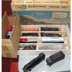 Lionel Electric Train Set