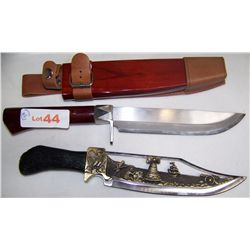 (2X$)Two  Fine Decorative Hunting Knives