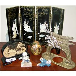 Six Asian Decorative Collectibles