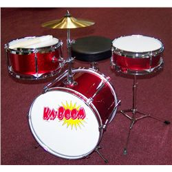 Kaboom! 3-Pc Mini Drum Set