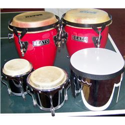 Four Drums as Shown