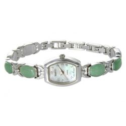 Badavici Green Jade Bracelet Watch