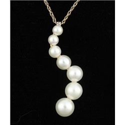 White Pearl Journey Pendant
