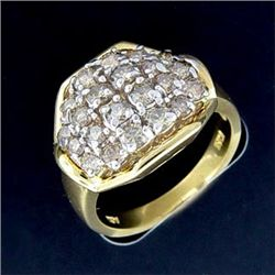 1.5 Ctw. Diamond Ring In 10ky Gold