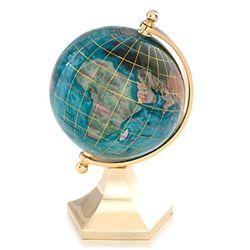 "Kalifano Contempo 3"" Gemstone Globe"