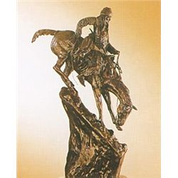 """Mountain Man"" Bronze Sculpture - Remington"