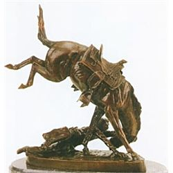 """Wicked Pony"" Bronze Sculpture - Remington"