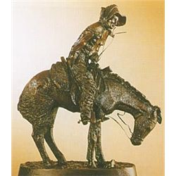 """Norther"" Bronze Sculpture - Remington"