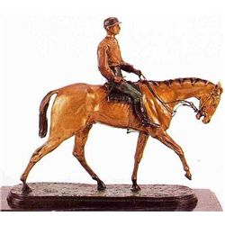 """After The Race"" Bronze Sculpture - Mene"