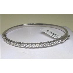 14KW BANGLE WITH DIAMONDS