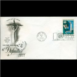 1968 UN First Day Postal Cover (STM-2747)