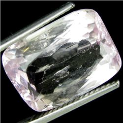 9.64ct Rectangle Light Pink Kunzite Mozambique (GEM-26873)