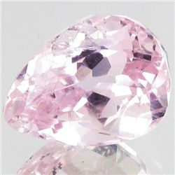 6.35ct Sparking Top Pink Kunzite Pear (GEM-43741)