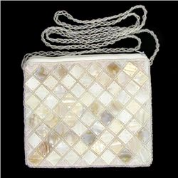 Handcrafted Mother of Pearl Evening Bag (ACT-365)