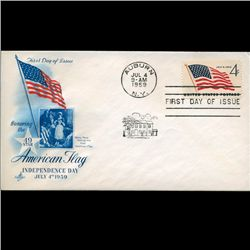 1958 US First Day Postal Cover (STM-2235)