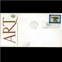 1970 UN First Day Postal Cover (STM-2836)